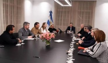 The government's announcement after the meeting in Olivos