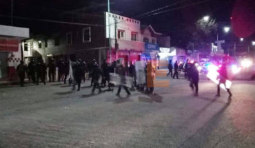 There were no injuries in the eviction of the Caja Grande property in Morelia, Michoacán prosecutor reports