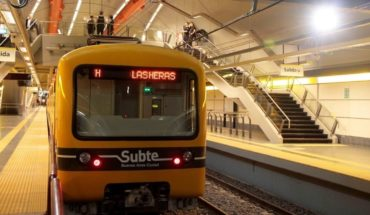Unemployment announced on 3 lines of the subway in Porteño for tomorrow