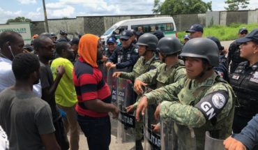 Why hundreds of African migrants protest in Chiapas