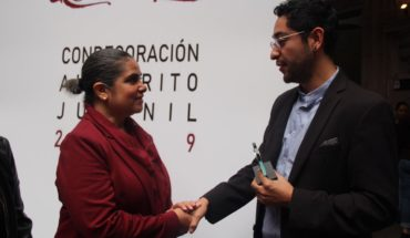 Yahir Morales, Youth Merit Award in the Cultural Field for SeCultura