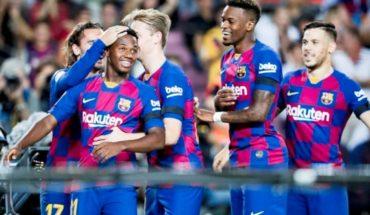 Barcelona vs Valencia: Doblete de Suárez y goles de Ansu Fati, De Jong y Piqué arman la fiesta de los culés