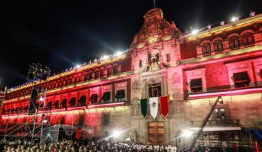 Con antojitos y sin alcohol, así se festejó en Palacio Nacional