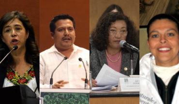 Diputados de la CNTE y SNTE que aprobaron reforma educativa