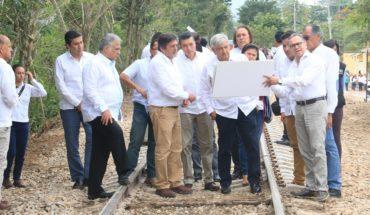 Gobierno prevé gastar 51% menos en el Tren Maya