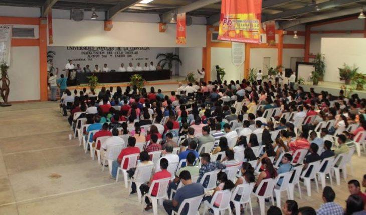 Hacienda reactiva cuentas de Universidad de la Chontalpa