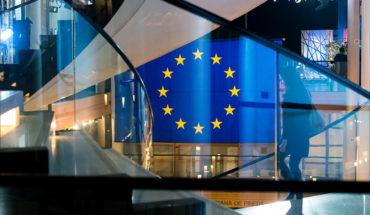 La Marca Europa. Bandera de la UE en el edificio del Parlamento Europeo en Estrasburgo. Foto: © European Union 2015 - European Parliament (CC BY-NC-ND 2.0)