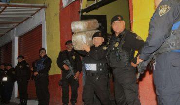 La policía le quita a la Unión Tepito 3.5 toneladas de mariguana