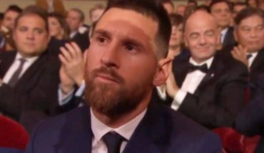 La reacción de Lionel Messi al no ganar el Premio Puskas en gala The Best