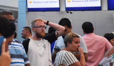 Quiebra de Thomas Cook afecta a turistas en Cancún