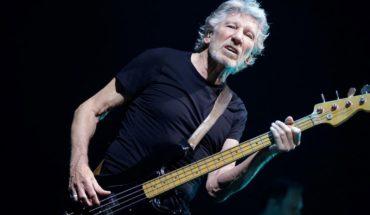 Roger Waters se presentó en manifestación a favor de Julian Assange