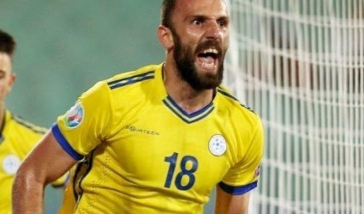 Tottenham quiere a Vedat Muriqi, gran figura de Kosovo, para ayudar a Kane