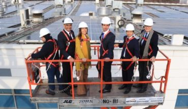 100% self-consumption photovoltaic plant opened in the country