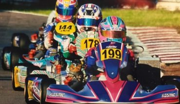 15-year-old driver who will represent Chile at junior karting world championships in Italy