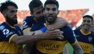 Boca beat San Lorenzo 2-0 and regained the tip of the Superleague