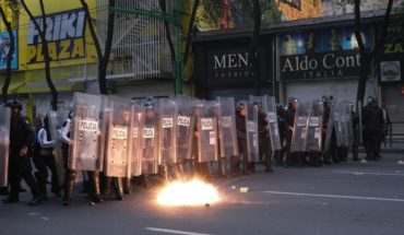 CDMX to strengthen security in marches after vandalism to businesses