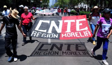 CNTE and SNTE to intervene in the allocation of places, says opinion
