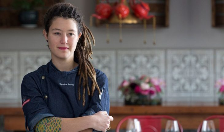 """Carolina Bazán: """"It's not impossible to be a woman and get to a level kitchen"""""""