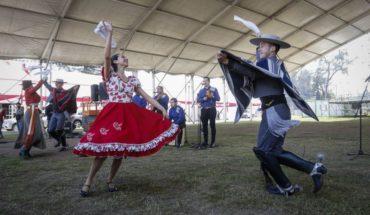 Celebrations of Fiestas Patrias begin with scissors in O'Higgins Park