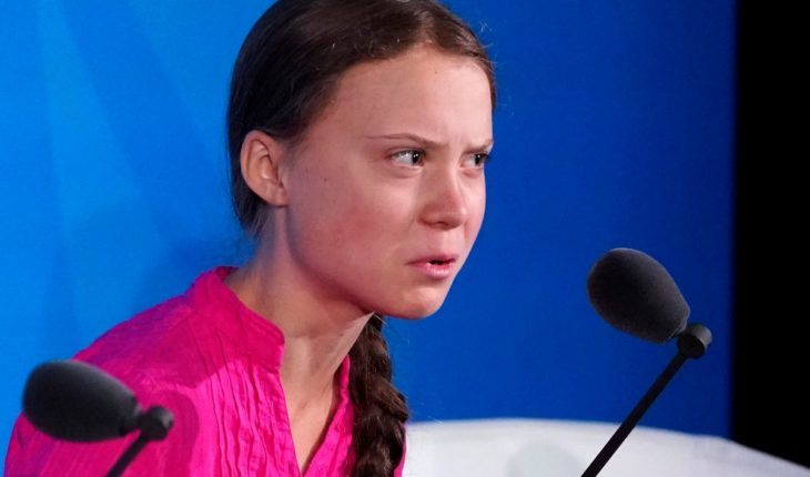"""""""Change Comes and Doesn't Do Enough"""" Greta Thunberg, to world leaders and governments"""