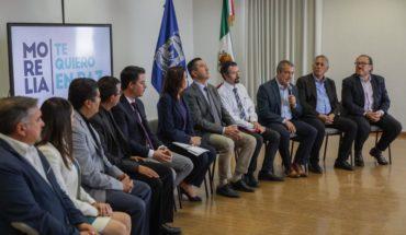 "Civil society, City Hall, universities and religious groups join program ""Morelia Te Quiero En Paz"""