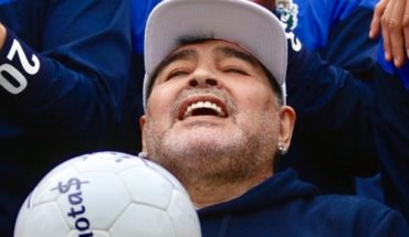 """Diego Maradona: """"The heart believed that it would burst when I went out on the court"""""""