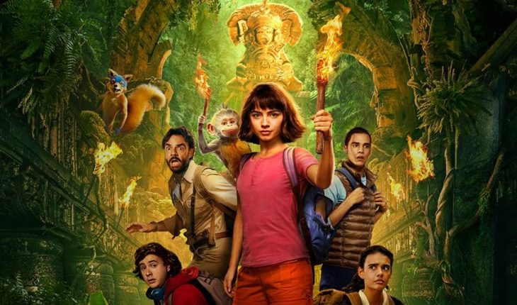 Dora and her friends arrive on the chart with a Mexican comedy