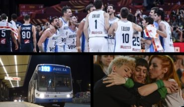 Epic and game: keys of Argentina in the Final of the World Basketball Championship, meeting by night collectives, new denunciation of Actresses Argentinas and more...