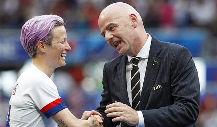 "FIFA to seek to create a female ""World League"""