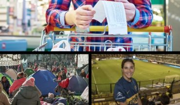 Follow the camping, inflation 4% in August, link Juanita with De Rossi and more...