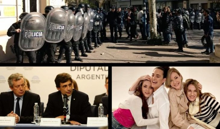 Fury in Chascomús after the femicide of Navila, Lacunza presented the 2020 Budget, premieres Little Victoria and more...