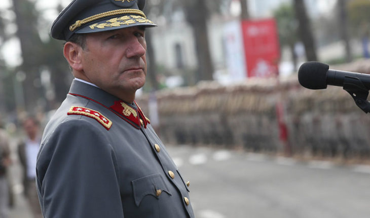 """General Juan Miguel Fuente-Alba accuses """"falsedades"""" against him"""