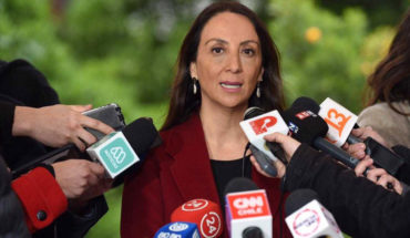 """Government spokeswoman claimed to have """"a difference"""" with Bachelet over Venezuela crisis"""