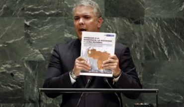 Half Colombian questions ELN photo veracity that Ivan Duke brought to the UN