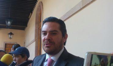 In favor Eduardo Orihuela report to the Governor's Congress