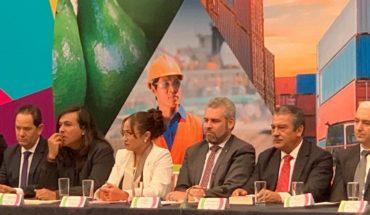 Itzel Camacho recognizes union of authorities for the benefit of the port of Lázaro Cardenas