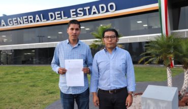 Javier Paredes reports to FGE for damage to one's image