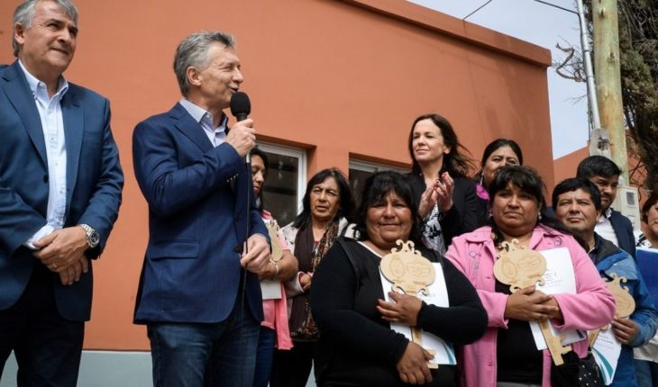 """Macri: """"I'm taking care of bringing relief to the table of the Argentinians"""""""