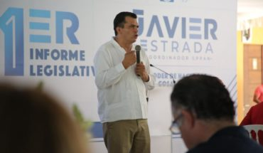 Michoacán requires us all, with sight height: Javier Estrada