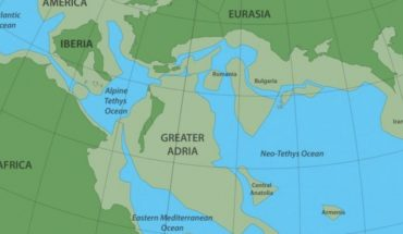 New continent discovered and called Great Adria