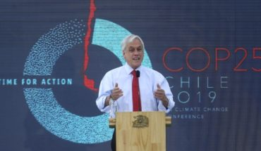 """Piñera on COP25: """"that Chile is a vulnerable country motivates us and excites us to take leadership"""" against climate crisis"""