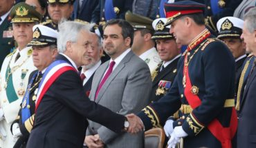 """President Piñera after the Military Stop: """"It has definitely been a very complex year for the Army"""""""