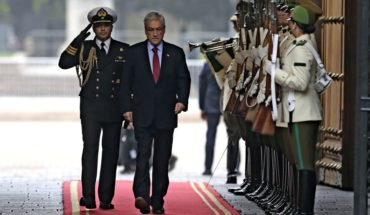 President Piñera ruled out running for a third presidential term in the future