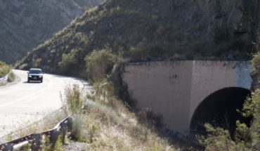 Rehabilitating tunnel No. 1 Cacheuta will cost more than $65 million