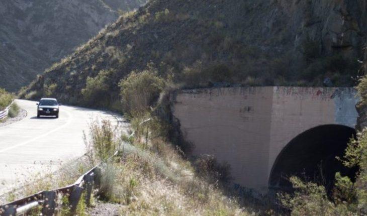 Rehabilitating tunnel No. 1 Cacheuta will cost more than $65 million
