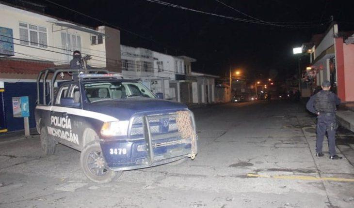 Subjects shot a house in Uruapan