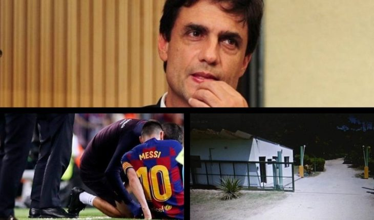 The IMF director talked about Argentina, medical part of Messi, a cougar appeared in Miramar, Daniela passed out live on TV and more...