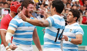 The Pumas beat Tonga at the 2019 Japan Rugby World Cup and are now going around England