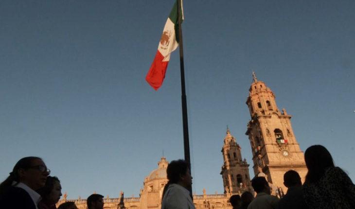 The festivities continue in Morelia, Michoacán