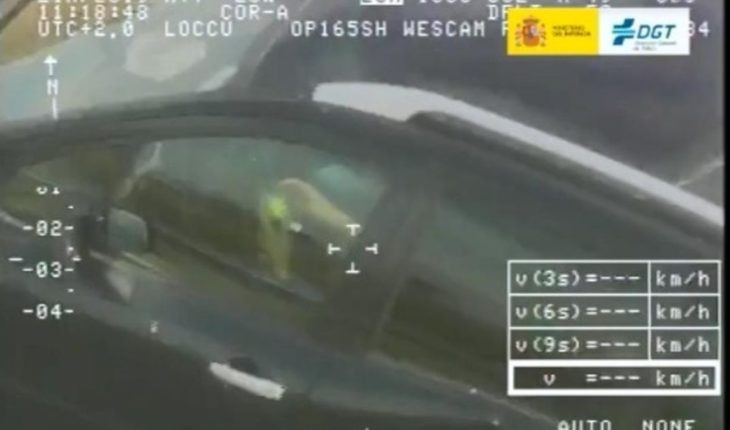They detect a driver assembling a Rubik's cube